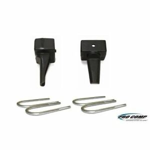 Pro Comp 58404 4 Inch Rear Lift Block W U Bolt Kit