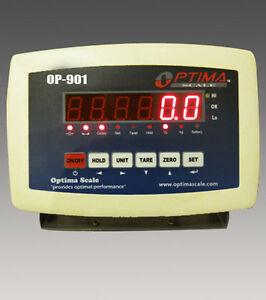 Indicator Scale Display Head Brain Optima Op 901 Weighing Indicator