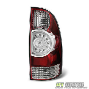 For 2009 2015 Toyota Tacoma Brake Led Tail Light Lamp 09 15 Passenger Side Rh