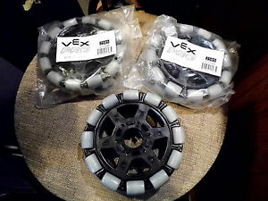 3 Pack Vex Pro 6 Omniwheels 217 2585 Directional Robotics Wheels