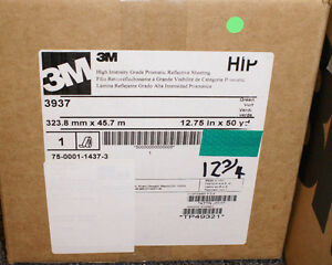 3m 3937 Green Sign Maker Vinyl 12 75 x150 3930 High Intensity Prismatic Reflect