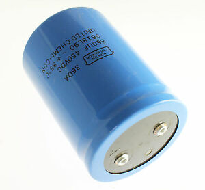 1x 860uf 450v Large Can Electrolytic Aluminum Capacitor Dc 450vdc 85c 860mfd