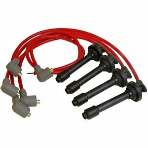 Msd Set Of 4 Spark Plug Wires New Civic For Honda Acura Integra Del 32349