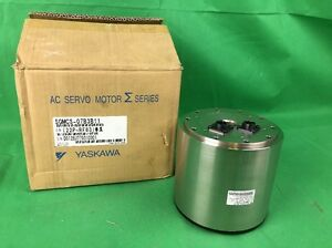 Yaskawa Sgmcs 07b3b11 Ac Servo Motor Indexing Turntable Head 147w 200v 1 4a
