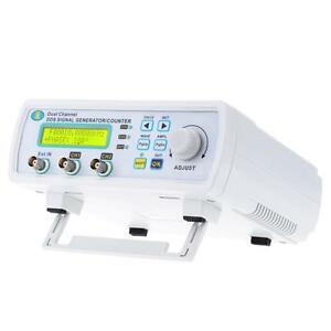 2 Channels 25mhz Dds Function Signal Generator Waveform Frequency Meter Nm Y6b2