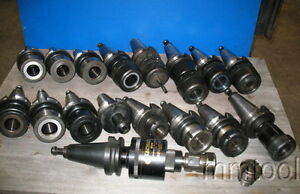 17 Bt 50 Cnc Mill Tool Holders Hyd Chucks Tg 150 Collet Chucks Balas Chucks