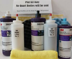 3m Perfect it Buffing Polishing Kit 39060 39061 39062 5723 5725 5751 1kit