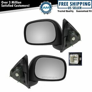 Power Heated Side View Mirrors Left Right Pair Set Of 2 For Ram Pickup Truck