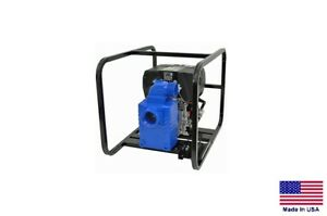 Pump Water Trash Solids 3 Suction Discharge 7 Hp Diesel 18 000 Gph