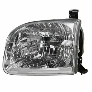 Headlight Headlamp Driver Side Left Lh For Toyota Sequoia Tundra Pickup Truck