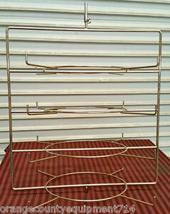 Pizza Rack For Hatco Rotating Display Stainless Steel 4261 Nsf Pan Round Tray
