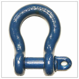 2 Clevis Screw Pin Anchor Shackle Campbell Wll 35 Ton