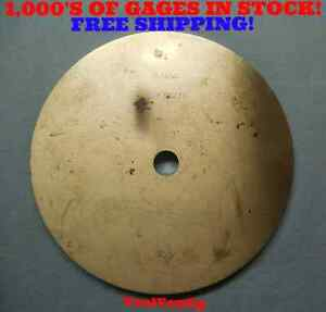 8 26195 Smooth Plain Pin Plug Gage For Calibrating Micrometers 210 Mm Undersize