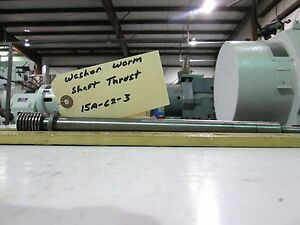 Storm Vulcan 15a Washer Worm Shaft Thrust 15a 62 3
