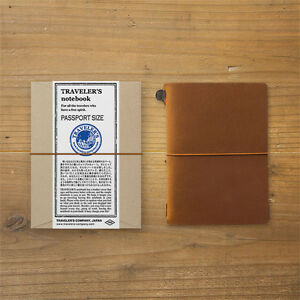 Traveler s Notebook Passport Size Camel Leather Cover From Japan 15194006