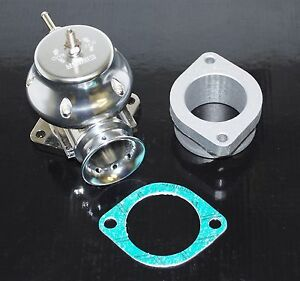 Universal Adj Billet Aluminum Type S Psi Turbo Blow Off Valve Bov Silver
