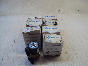 Gould Allied Control 25086 Solenoid Valve Lot Of 8 New