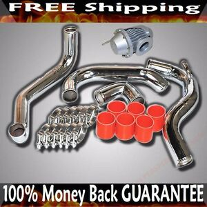 Intercooler Piping silicone clamp bov Fit 89 94 Nissan 240sx Ca18det Only