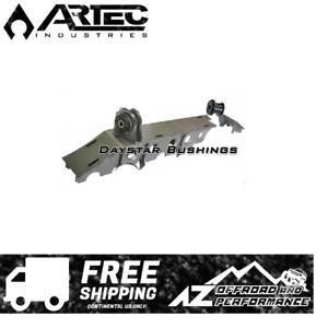Artec Front Dana 30 Axle Truss W Daystar Bushings 93 06 Jeep Tj Lj Zj Raw