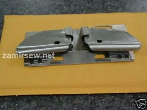 Zipper Attachtment Folder For Double Needle Machines Juki 1560 Consew 339