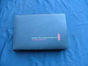 1965 Oldsmobile Dealer Color And Fabric Selector Album Nice 88 98 442 F85