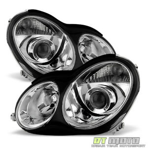 factory Style 2001 2007 Mercedes Benz W203 C230 C240 C320 Projector Headlights