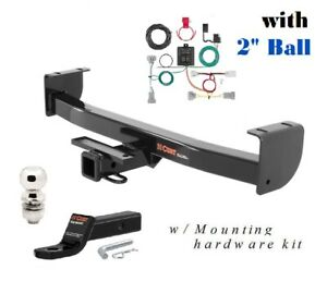 Class 3 Trailer Hitch Package For 2016 2018 Toyota Tacoma Pickup 2 Ball 13264