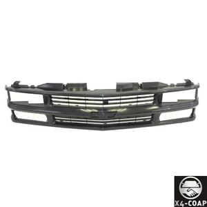 Black Grille For Chevrolet Tahoe Blazer 3500 2500 1500 Gm1200239 New