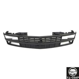 All Black Grille W Insert For 88 93 Chevy C K 1500 2500 3500 Pickup Composite