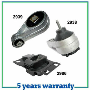 M320 For 2000 2003 Ford Focus 2 0l Sohc Engine Motor Trans Mount Kit 3pcs New