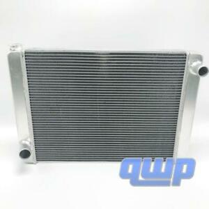 Ford Mopar Universal Aluminum Racing Radiator 28 X 19 X3 2 Row Single