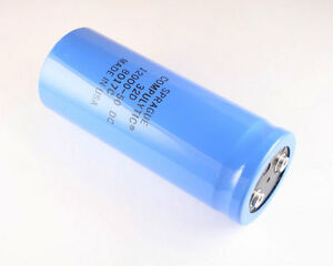 1x 12000uf 50v Large Can Electrolytic Capacitor Volts Dc 50vdc 12000mfd 12 000