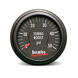 Banks Power 64051 Dynafact Boost Gauge Electrical 0 50 Psi