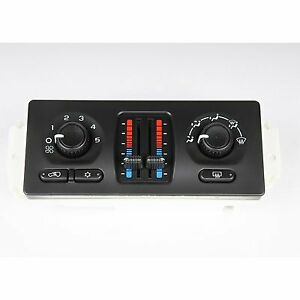 Ac Delco A C Heater Control New For Chevy Olds Chevrolet Trailblazer 15 73933