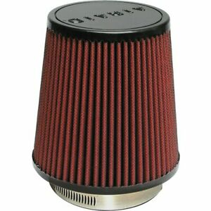 Airaid Air Filter Conical Cotton Gauze Red 3 5 Inlet 6 Bottom 4 625 In Top 6
