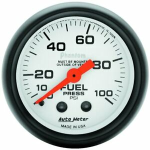 Autometer Fuel Pressure Gauge Gas New 5712