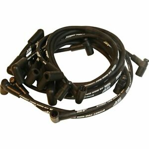 Msd Spark Plug Wires Street Fire 8 0mm Black 90 Deg Boots Chevy Corvette Sm