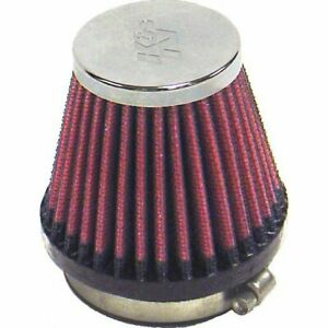 K n Air Filter Element Filtercharger Conical Cotton Gauze Red 2 125 Dia Inlet