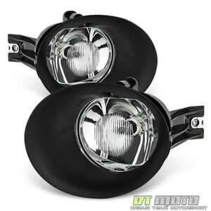 2002 2008 Dodge Ram 1500 03 09 2500 3500 Glass Fog Lights Driving Lamps Bulbs