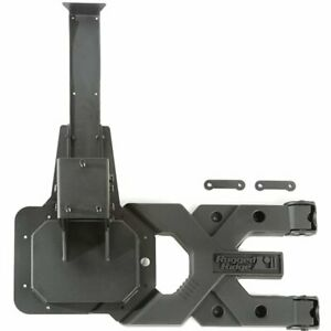 Rugged Ridge Spare Tire Carrier New For Jeep Wrangler Jk 2018 11546 50