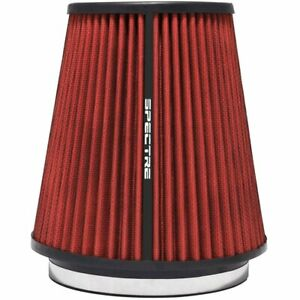 Spectre Hpr9891 Universal Air Filter Red Cotton Gauze Washable Universal