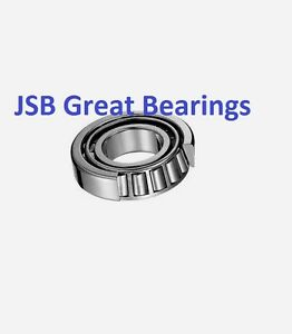 qty 10 30205 Metric Tapered Roller Bearing Set cup Cone 25x52x16 25