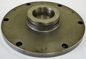 15 3 4 Lathe Chuck Adapter Plate L 1 Spindle Mount Taper 1 Thickness Poland