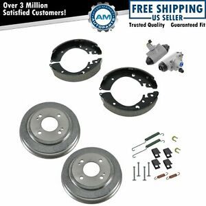 Rear Brake Shoe Drum Hardware Wheel Cylinder Kit For Honda Civic