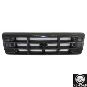 For Ford Bronco 92 96 F 250 F 350 F 150 92 97 Pickup Front Grille Painted Black