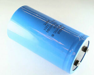 1x 2500uf 400v Large Can Electrolytic Capacitor 2500mfd Dc 85c 400vdc 2 500 Uf