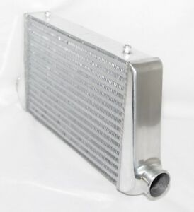 Universal Intercooler 25x12x3 3 inlet outlet Toyota Acura Bwm Audi Honda Mazda