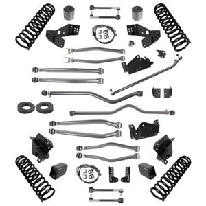 Synergy 4 5 Stage 4 Long Arm Suspension Lift For 07 18 Jeep Wrangler Jk 4 Door