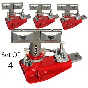 Chief Style Frame Machine Anchoring Set Of 4 Uas Metric