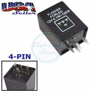 4 Pin Ep29n Led Flasher Relay Fix Hyper Flash Turn Signal Decoder Load Equalizer